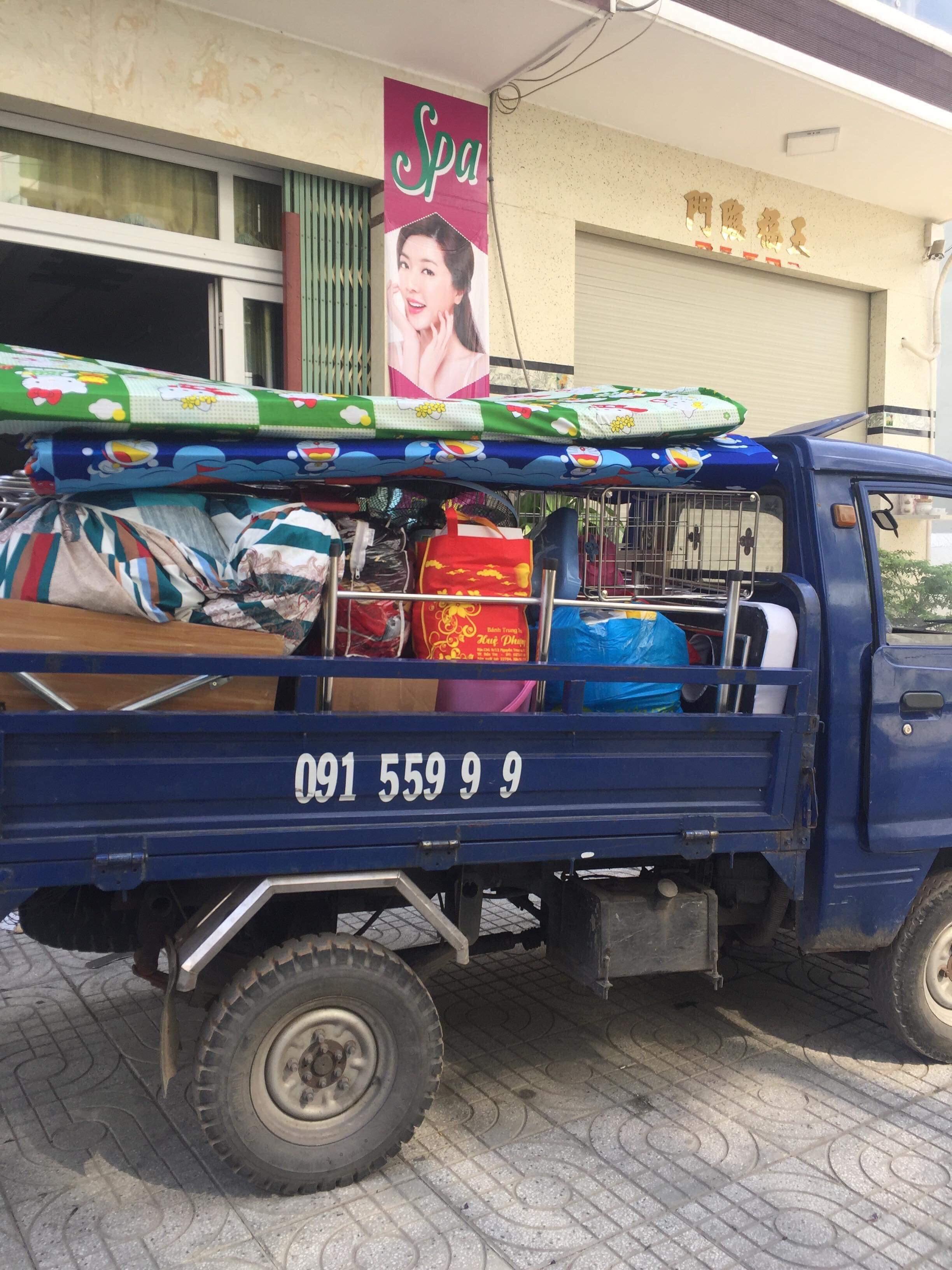 xe ba gác chở thuê quận 9