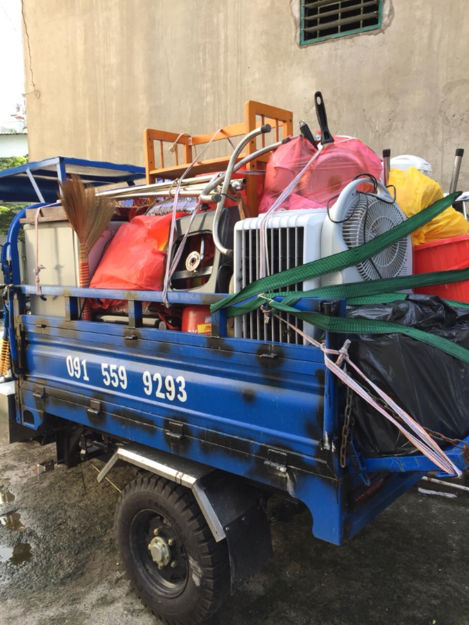 Xe ba gác chuyển nhà quận Tân Phú
